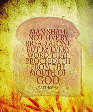 Matthew 4:4 Bread